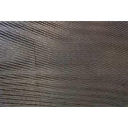 Sheet, Perf, Stl, 40x36, 18 ga, 0.078 Dia, Rnd