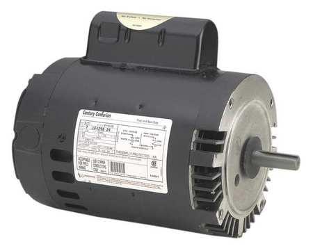 Pool Pump Motor, 2 HP, 3450 RPM, 208-230VAC