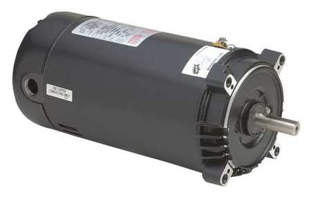 Pool Pump Motor, 1 HP, 3450 RPM, 115/230VAC