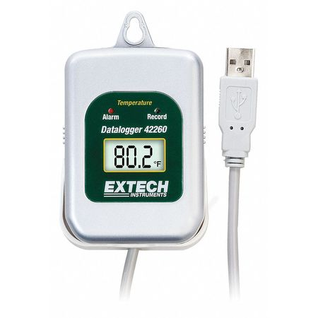 Data Logger, Temperature, -40 to 185 F