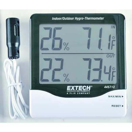 In/Out Digital Hygrometer, 14 to 140 F