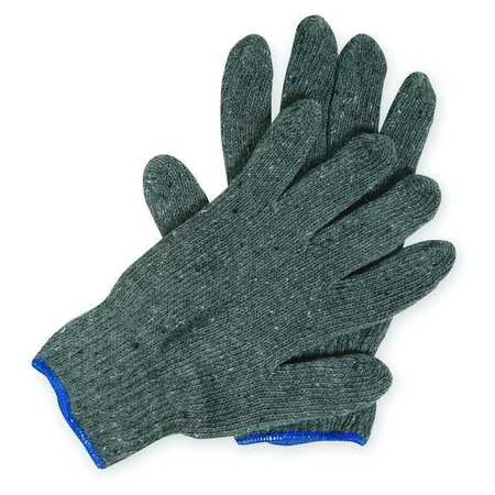 Knit Glove, Poly/Cotton, L, PK12