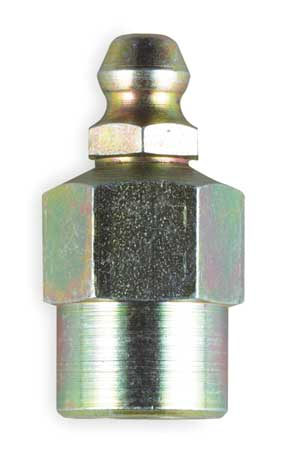 Grease Fitting, Str, OAL1.00 In, PK10