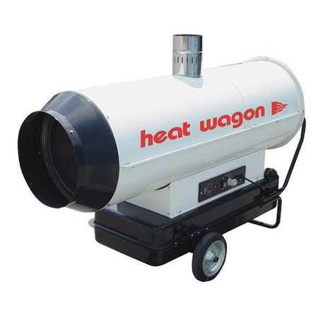 174900 BtuH Oil Fired Torpedo Heater,  Kerosene/Diesel
