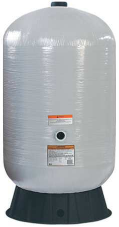 Tank, Water, Fiberglass, 80 Gal, Side Port