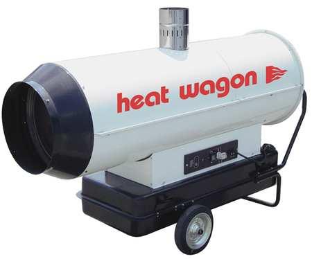 Heat Wagon 254400 Btuh Oil Fired Torpedo Heater Kerosene