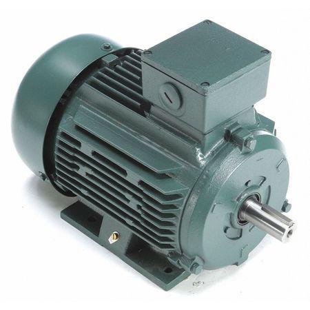 Premium Efficiency Metric Motor, Rigid