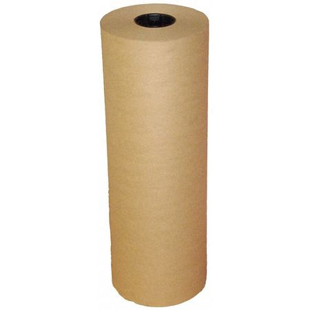 "Natural Kraft Paper 24"" x 1200 ft.,  30 lb. Basis Weight"