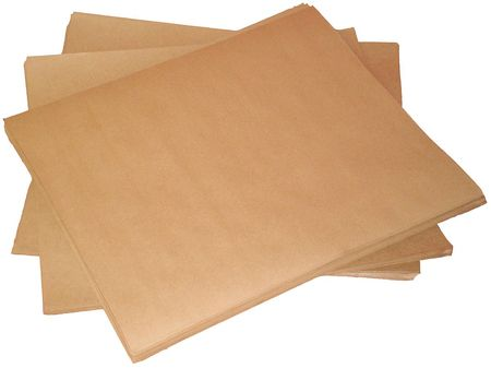 "Kraft Paper 36"" x 24"",  50 lb. Basis Weight,  Pk500"