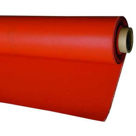 Welding Blanket, 73.8 ft. W, 5.08 ft., Red