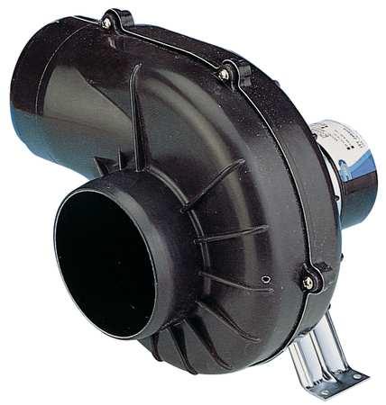 Blower, 250 cfm, 24VDCV, 5.3A, 2500 rpm