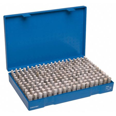 Pin Gage Set, Minus, 250 Pc, 0.251-0.500 In