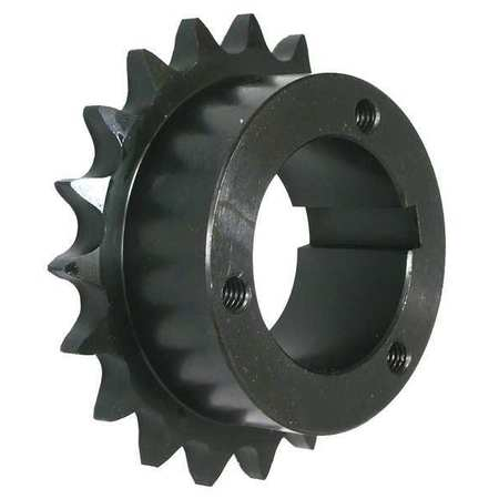 Split Taper Sprocket, #40, OD 6.653 In