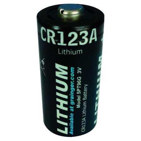 Battery, 123, Lithium, 3V, PK2