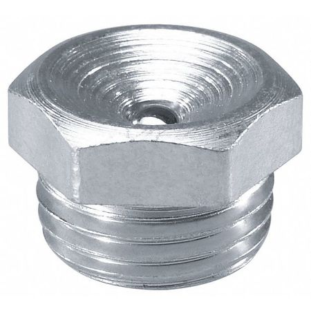 Grease Fitting, Str, OAL .41 In, PK10
