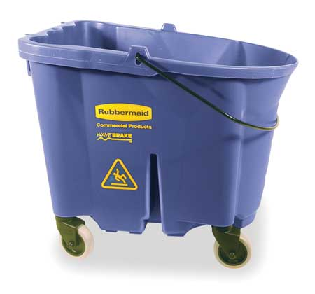 Mop Bucket, 8.75 gal., Blue