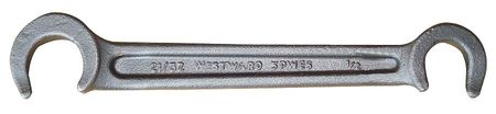 Valve Wheel Wrench, Double-End, 10 In