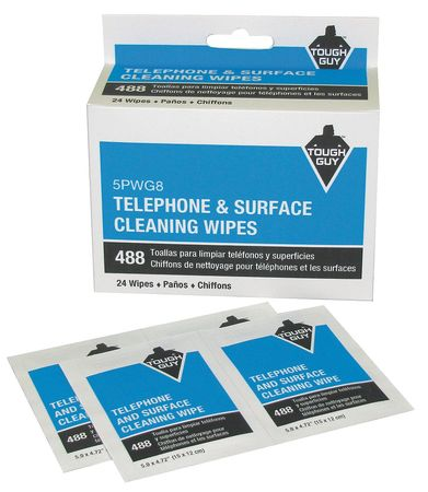 Telephone & Surface Clng. Sachets PK24