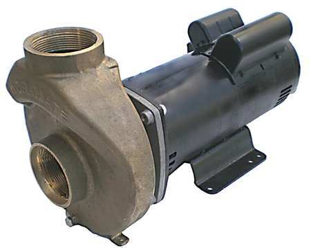Pool/Spa Pump, 5HP, 3450, 208-230/460