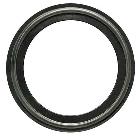 Gasket, Size 6 In, Tri-Clamp, EPDM