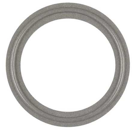 Gasket, Sz1 1/2 In, Tri-Clamp, Tuf-Steel(R)