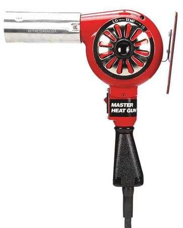 Heat Gun, 300 to 500F, 12A, 23 cfm