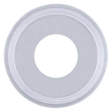 Gasket, Size 1 In, Tri-Clamp, Silicone
