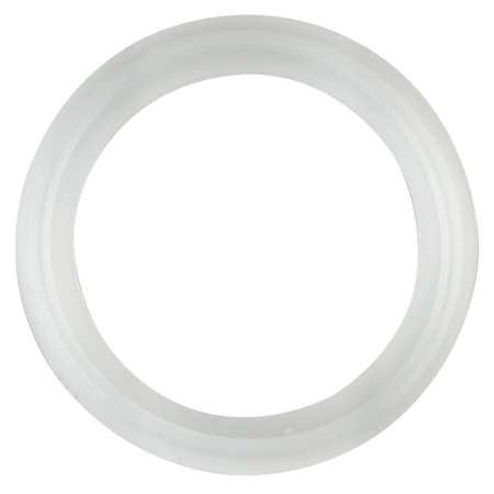 Gasket, Size 1/2 In, Tri-Clamp, Silicone
