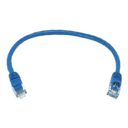 Ethernet Cable, Cat 5e, Blue, 1 ft.