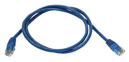 Ethernet Cable, Cat 5e, Blue, 3 ft.