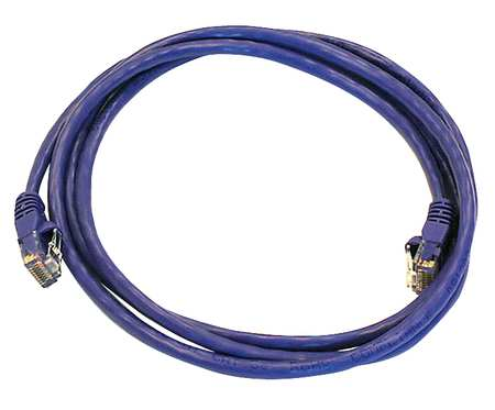 Ethernet Cable, Cat 5e, Purple, 5 ft.