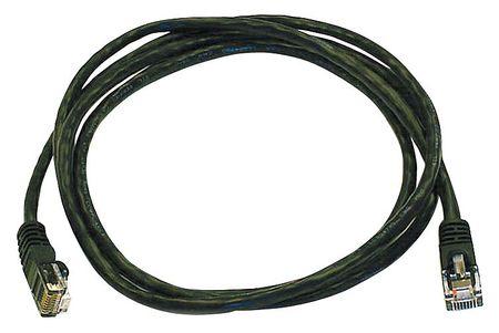Ethernet Cable, Cat 5e, Black, 5 ft.