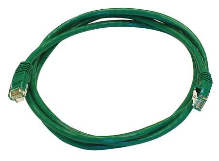 Ethernet Cable, Cat 5e, Green, 5 ft.