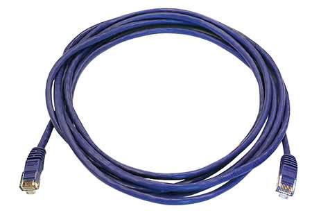 Ethernet Cable, Cat 5e, Purple, 7 ft.