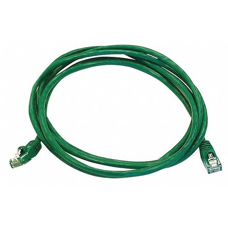 Ethernet Cable, Cat 5e, Green, 7 ft.