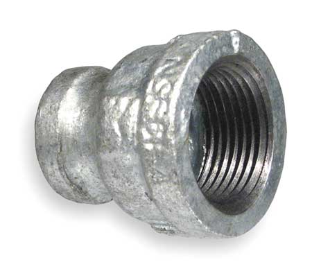 "1-1/4"" x 1/2"" FNPT Galvanized Reducer"