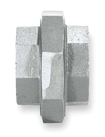 "1-1/4"" FNPT Galvanized Union"