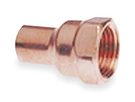 "1/2"" NOM FTG x 1/2"" FNPT Copper Adapter"