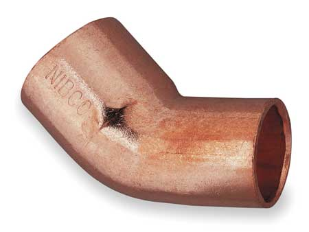 "3/4"" NOM FTG x C Copper 45 Degree Elbow"