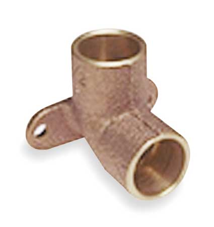"1/2"" NOM C Copper 90 Degree Drop Ear Elbow"
