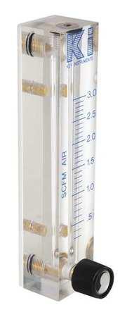 Meter, Air, 0.3-3 Scfm