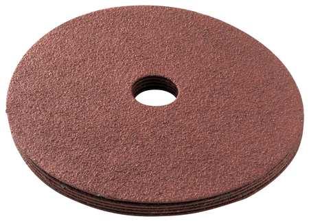 Fiber Disc, 5x1/2, 120G, AlO, PK5