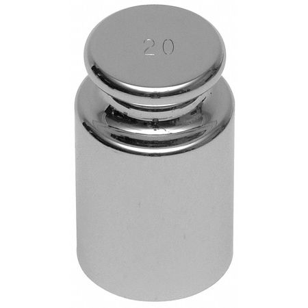 Calibration Weight, 1000g, Stainless Steel
