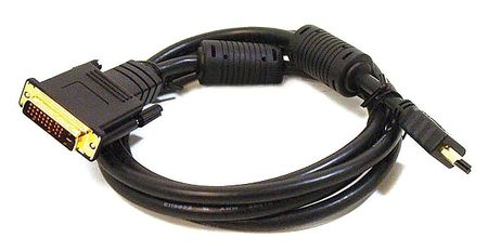 Proj cord, HDMI to M1-D(P+D) Male, 15ft