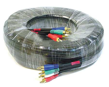 RCA Cable, RG-59/U, 5 RCA, 50 ft.