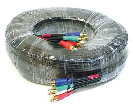 RCA Cable, RG-59/U, 5 RCA, 100 ft.
