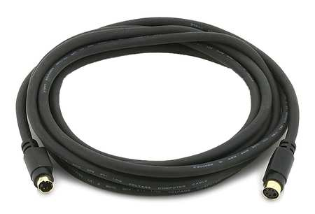 S-Video Extension Cable, Black, 12 ft.