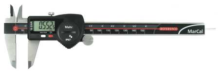 Electronic Digital Caliper, 0 to 6 In