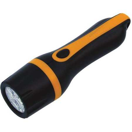 VALUE BRAND LED 30 Lumens  Black Industrial Flashlight