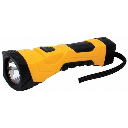 VALUE BRAND LED 190 Lumens  Yellow Industrial Flashlight